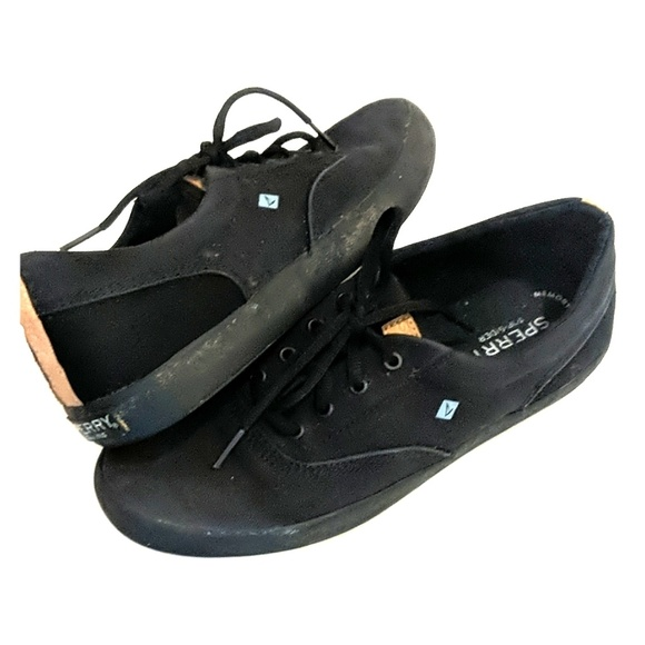 Sperry Other - SPERRY TOP-SIDER BLACK CANVAS 5.5